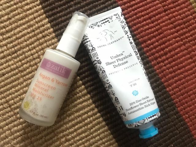 Current Sunscreens